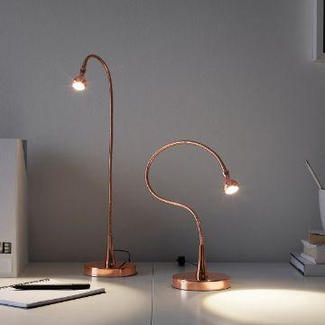 lamparas de mesita de noche minimalistas