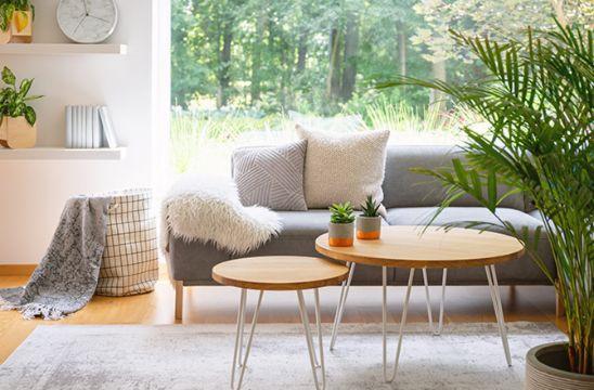 mesas de centro para la sala minimalistas