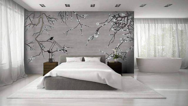 papel tapiz para dormitorios naturaleza