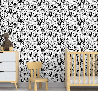 papel tapiz para dormitorios para niños