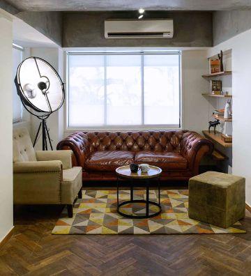 salas de estar pequeñas con elegancia