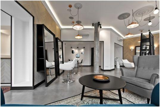 salones de belleza decorados moderna