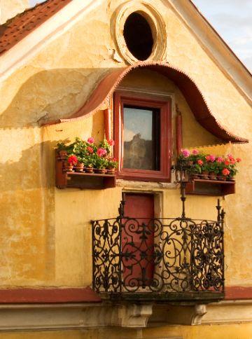 balcones de casas rusticas en casas coloniales
