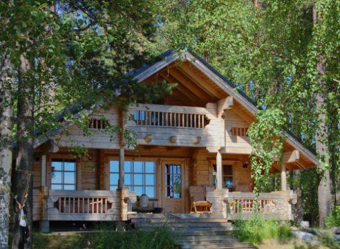 balcones de casas rusticas para cabañas