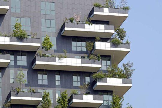 balcones de casas sencillas en departamentos