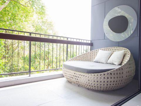 balcones de casas sencillas modernas