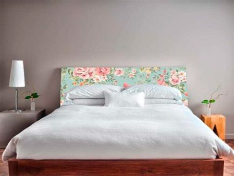cabeceras de cama tapizadas tipo vintage