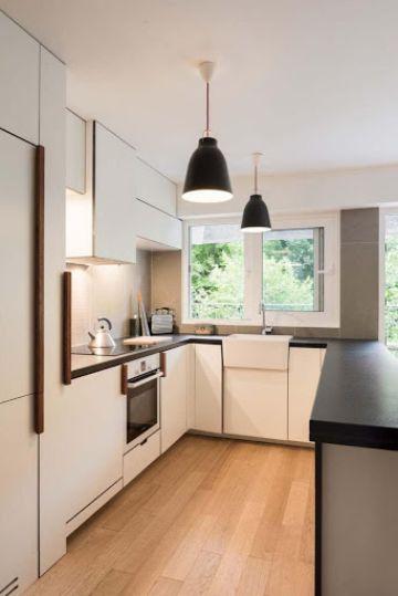 cocinas minimalistas pequeñas para casas pequeñas