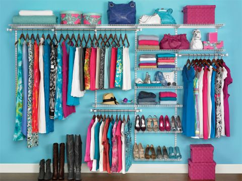 como organizar tu armario repisas metalicas