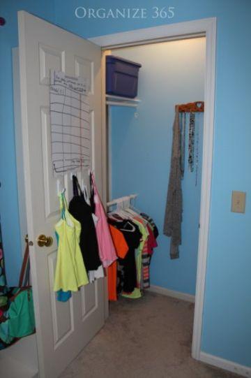 como organizar tu armario trucos en puertas