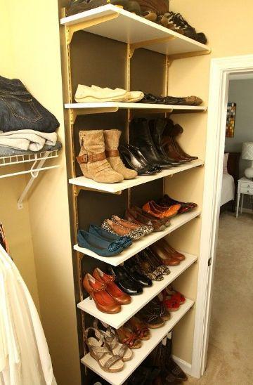 como organizar tu armario zapatos
