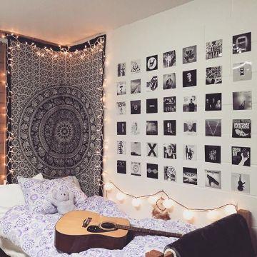 decoracion con cuadros para sala y recamaras