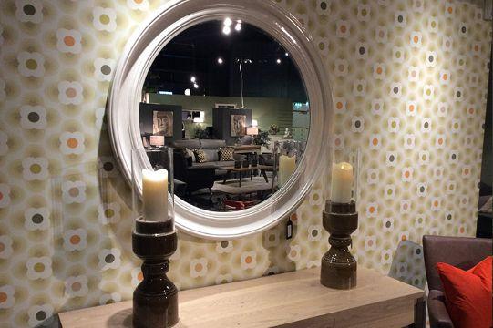 espejos decorativos para salas redondos