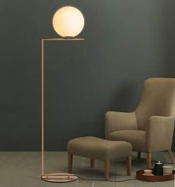 lamparas de pie para sala modernas