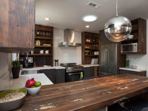 modelos de barras de cocina rustica