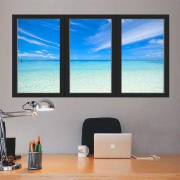murales y vinilos 3d para salas y oficinas