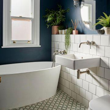 baños pequeños modernos y funcional naturales