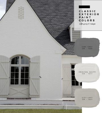 colores para exteriores de casas 2019 blancos y grises