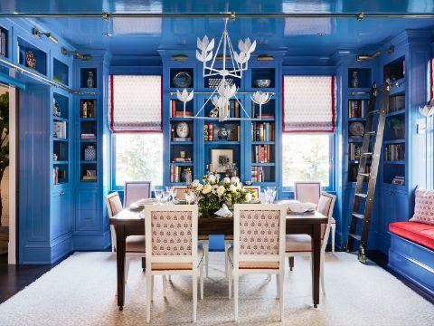como decorar la sala y comedor con colores modernos