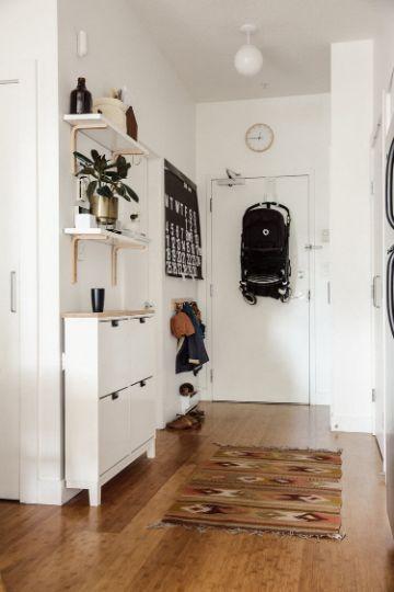 decoracion de apartamentos pequeños entradas