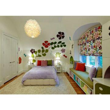 decoracion de habitacion juvenil femenina viniles