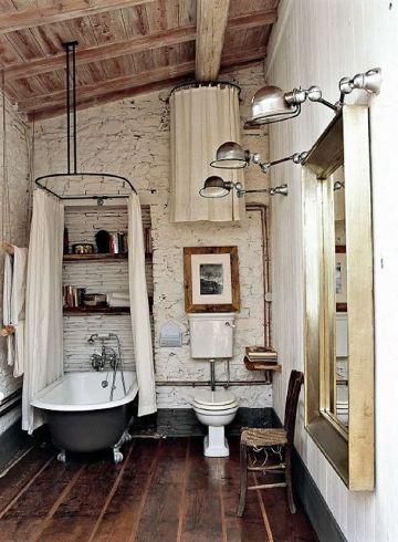 decoracion estilo industrial baños