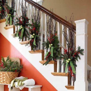 decoraciones navideñas para la casa naturaleza