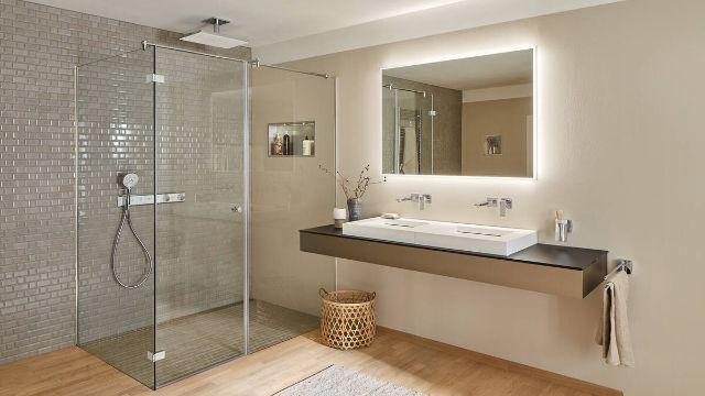 diseños de baños modernos luminosidad