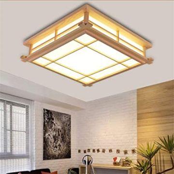 habitacion estilo japones lamparas