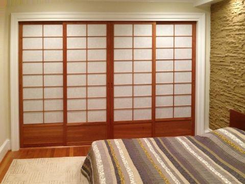 habitacion estilo japones puertas