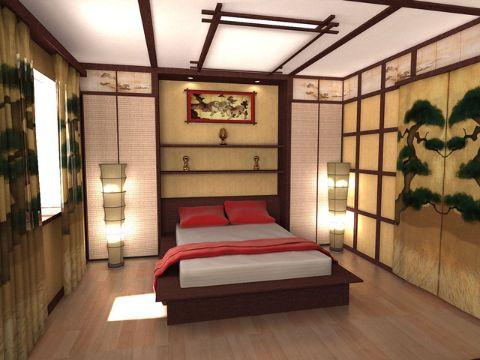 Una Habitacion Estilo Japones Y 3 Ornamentos Mas