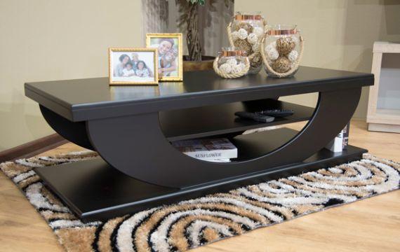 mesas de centro decoradas con fotos y refractarios