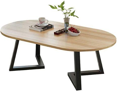 mesas de centro estilo nordico ovalo