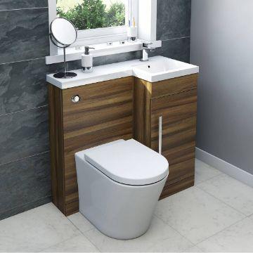 muebles para baños pequeños funcionales