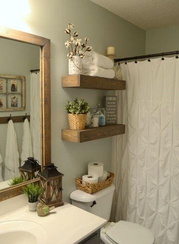 muebles para baños pequeños repisas