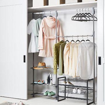 closet para espacios pequeños metalicos
