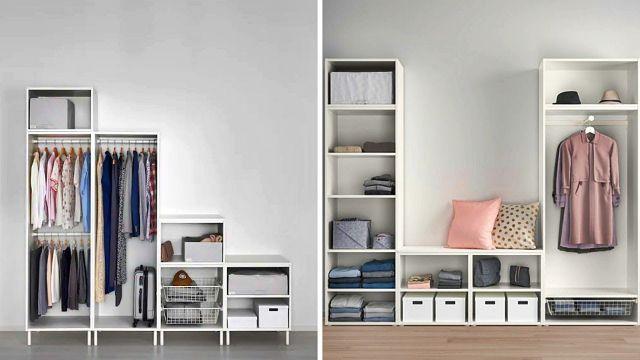 closet para espacios pequeños organizacion