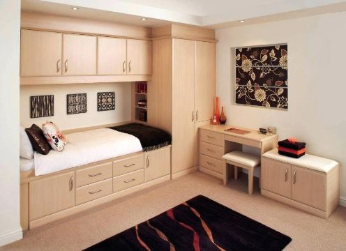 closet para espacios pequeños tiny houses