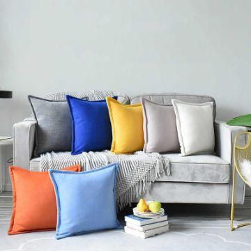 cojines decorativos para sala modernos tonos