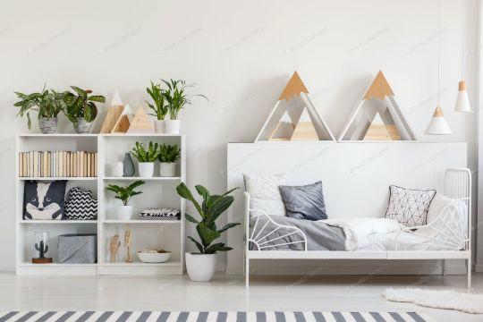 cojines para sala de madera modernas