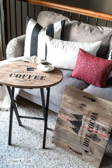 cojines para sala de madera para estilos rusticos