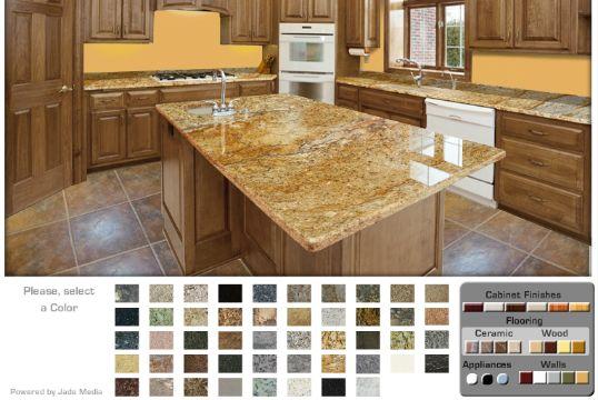 colores de granito para cocina simulador virtual