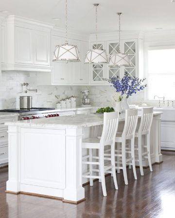colores de pintura para cocina blancas