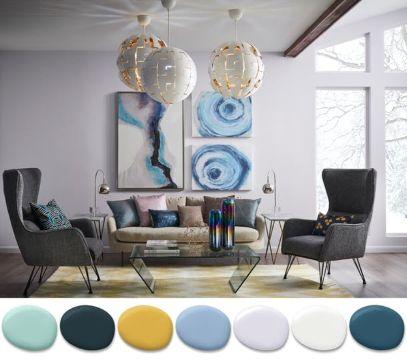 colores para interiores de casa combinaciones
