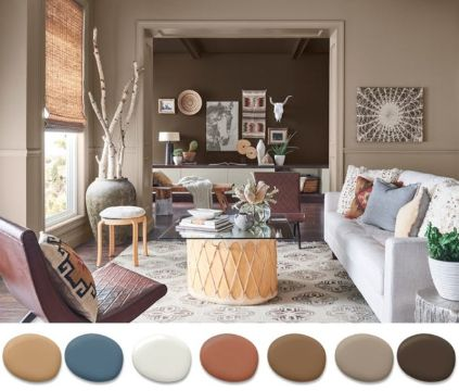 colores para interiores de casa gamas
