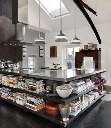 decoraciones de cocinas modernas muebles multifuncionales