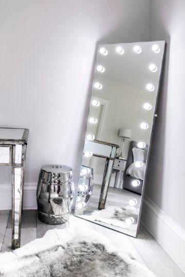 espejos de cuerpo entero con luces