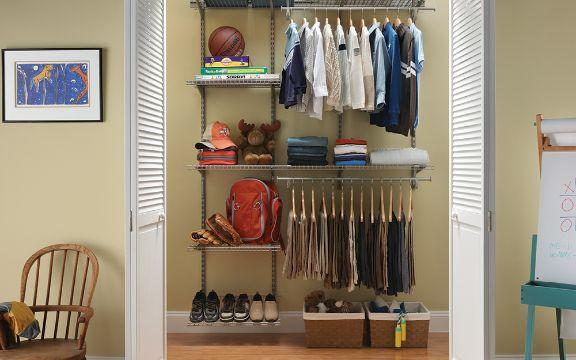 organizacion de closet pequeños espacios