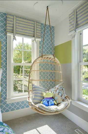 sillas para decorar habitaciones de niños