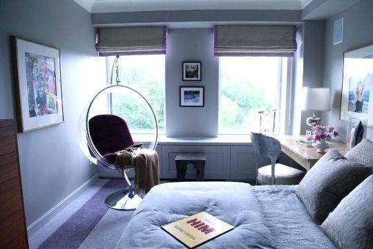 sillas para decorar habitaciones estilo pop